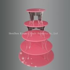 Five-layer cake display stand