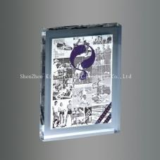 Acrylic paper town photo frame