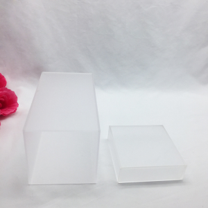 Acrylic frosted storage box