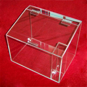 Acrylic supermarket bulk food box